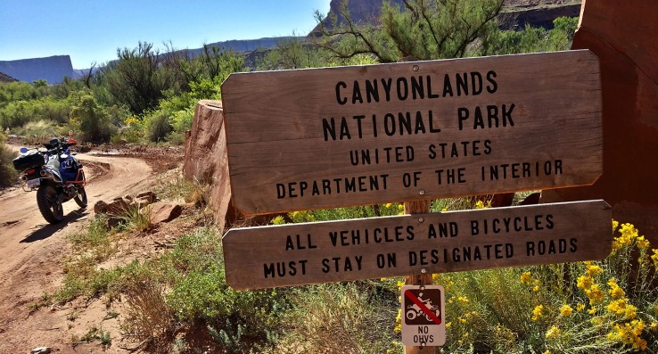 Welcome to Canyonlands.