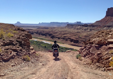 Around every corner is a stunning view of Moab.